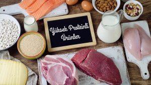 Yüksek proteinli ürün tüketmenin faydaları nelerdir?